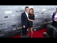Jennifer Aniston đẹp đôi bên Justin Theroux