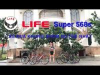Xe đua khung nhôm ưu thế nhất LIFE Super568s | https://lifebike.vn
