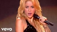Shakira trình diễn sôi động tại Paris