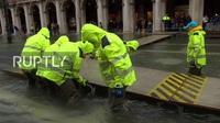 Venice chìm trong biển nước vì triều cường lịch sử