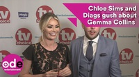 Chloe Sims xinh đẹp trả lời phỏng vấn