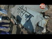 Video máy bay chiến đấu Ấn Độ bốc cháy trên không nghi vì đâm phải chim