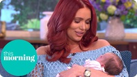 Amy Childs khoe con gái nhỏ
