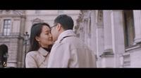 Ảnh cưới lãng mạn ngọt ngào của BTV Thu Hà và ông xã tại Paris (video: Lê Chí Linh)