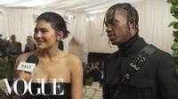 Kylie Jenner cùng Travis Scott dự MET gala