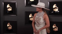 Jennifer Lopez dự lễ trao giải Grammy