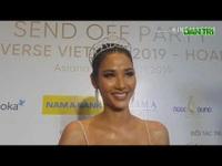 Hoàng Thùy đặt mục tiêu đạt vương miện Hoa hậu Hoàn vũ Thế giới