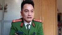 Đại úy Lê Công Long - Đội trưởng Đội điều tra tổng hợp (Công an huyện Đô Lương, Nghệ An) khẳng định phía cơ quan công an huyện đã làm đúng quy trình, đúng lương tâm