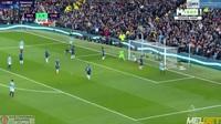 Pha bỏ lỡ khó tin của Aguero trước cầu môn Chelsea