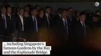 Chuyến tham quan trong đêm của ông Kim Jong-un tại Singapore