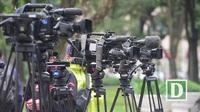 Một ngày săn tin cùng các phóng viên quốc tế trước thềm Thượng đỉnh Mỹ - Triều tại Hà nội