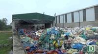 Dân tố xưởng sản xuất nhựa tái chế gây ô nhiễm