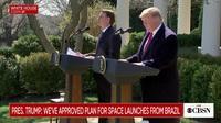 Tổng thống Mỹ họp báo cùng Tổng thống Brazil tại Vườn Hồng