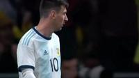 Messi gặp ác mộng trong ngày trở lại đội tuyển Argentina