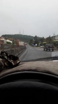 Xe container đi ngược chiều trên quốc lộ cực kỳ nguy hiểm