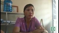 Bà Lê Thị Lý- Chủ tịch Hội Phụ nữ xã Cương Gián nói về tình trạng bùng phát li hôn ở địa phương.