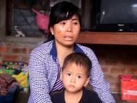 Bình Định: Chồng đi biển mất, vợ dị tật gồng mình nuôi 2 con thơ dại