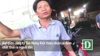 Cán bộ môi trường xã Vĩnh Lộc B không xử lý hành vi đốt phế thải của công ty phế liệu