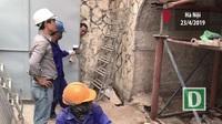 Hà Nội tiến hành đục thí điểm vòm cầu đầu tiên trên phố cổ