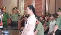 Ngọc Miu khai tại tòa.