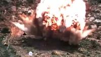 """Mỹ """"tung"""" video máy bay thả siêu bom giữa lúc căng thẳng với Iran"""
