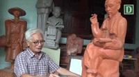 Họa sĩ - nhà điêu khắc Trần Minh Châu trọn đời khắc họa hình ảnh Bác Hồ
