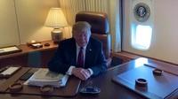 Ông Trump chỉ trích Thị trưởng New York trên Không Lực Một