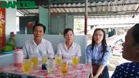 Bàn giao nhà Nhân Ái do bạn đọc Dân trí hỗ trợ ở Bạc Liêu.