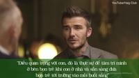 Clip chuyện trò ấm áp giữa David Beckham và cha
