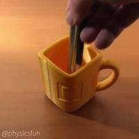 Chiếc cốc này hình vuông hay hình tròn?