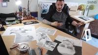 """Họa sĩ bị điều tra vì những bức vẽ quá chân thực tới mức bị nghi """"lừa đảo"""""""