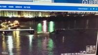 Khoảnh khắc cầu Trung Quốc đổ sập, xe lao xuống sông