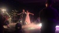 Phương Mai khiêu vũ cùng chồng tại tiệc cưới