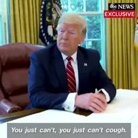 Ông Trump phật ý ra mặt, khiển trách Chánh văn phòng Nhà Trắng vì ho trong phòng Bầu Dục