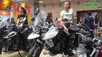 """Người mẫu xinh đẹp bên môtô """"khủng"""" tại Vietnam AutoExpo 2019"""