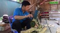 Mục sở thị quy trình làm ống hút tre xuất khẩu quốc tế của 8X Việt
