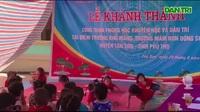 Khánh thành phòng học Khu Măng (Phú Thọ)
