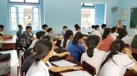 Buổi làm thủ tục dự thi THPT quốc gia 2019 tại Huế
