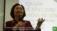 Bà Tống Thị Minh - Nguyên Cục trưởng Cục Quan hệ Lao động và Tiền lương (Bộ LĐ-TB&XH)