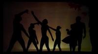 Cảm động trước vũ điệu hắt bóng