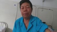 Tủi thân người phụ nữ mắc bệnh ung thư nằm viện một mình không người chăm sóc