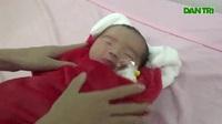Bé gái bị bỏ rơi được chăm sóc tại bệnh viện