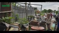 Ổ lăng quăng muỗi truyền bệnh sốt xuất huyết trong khu dân cư
