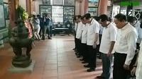 Đoàn công tác của Bộ LĐ-TB&XH tới thắp hương và tưởng niệm các liệt sĩ tại Thái Nguyên