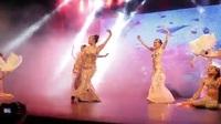 Tiết mục bellydance quyến rũ của vũ công Hồng Hạnh và các học trò