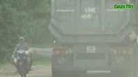 """Hàng loạt xe trọng tải lớn tiếp tục """"thách đố"""" lực lượng chức năng"""