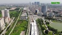 Đại công trường đường 8.500 tỷ đồng ở cửa ngõ Hà Nội