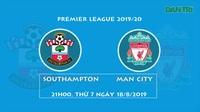 Phong độ cầu thủ của Liverpool so với Southampton