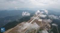 """Trung Quốc mở cửa sân bay """"nằm trên biển mây"""""""