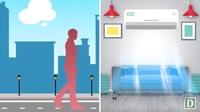 Cách giữ sức khỏe tốt khi phải ngồi máy lạnh thường xuyên